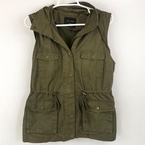 Love Tree Jackets & Blazers - Love tree utility vest